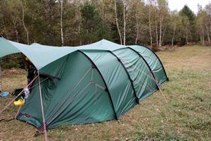 かんこなママさんのヒルバーグのテント
